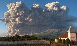 Indonesia's Sinabung volcano eruption