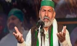 Farmers' protest to continue till rollback of three agri laws: Rakesh Tikait