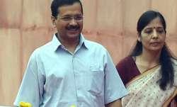 kejriwal wife tests positive