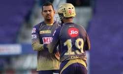 Sunil Narine and Dinesh Karthik, IPL 2021, IPL 2021, KKR vs CSK