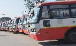 Karnataka RTC worker Bus strike