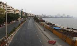 Marine line wears a deserted look following restrictions in