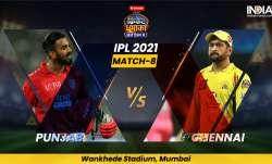 PBKS vs CSK, IPL 2021, IPL 2021 news, IPL 2021 latest news, IPL 2021 Match 8