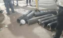 oxygen cylinders loot, damoh