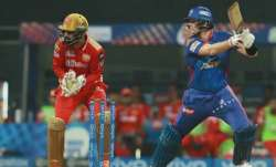 Steve Smith in action during IPL 2021