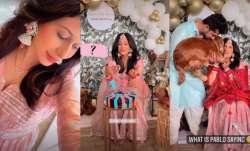 Kishwer Merchantt baby shower