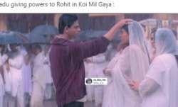 Feeling low? See these hilarious memes on Shah Rukh Khan and Kajol's scene from 'Kabhi Khushi Kabhie