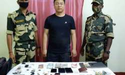Chinese national held by BSF along Indo-Bangla border in