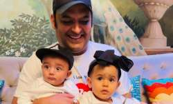 Kapil Sharma on 'public demand' shares FIRST PIC of son Trishaan on Father's Day