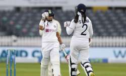 Women's one-off Test between India and England drawn