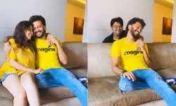 Milap Zaveri has a hand in Genelia D'Souza's prank on husband Riteish Deshmukh, quite literally!