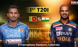 Live Cricket Score Sri Lanka vs India 1st T20I: LIVE Updates from Colombo