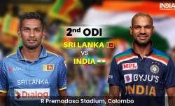 Live score Sri Lanka vs India 2nd ODI: Follow live score and ball-by-ball updates from SL vs IND 2nd