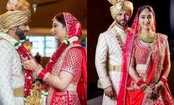 Singer Rahul Vaidya and actress Disha Parmar tied the knot