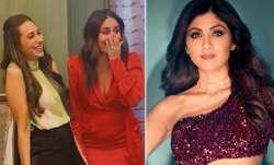 Karisma, Kareena Kapoor, Shilpa Shetty