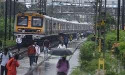 train derails after being hit by landslide