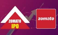 zomato share listing, zomato share price