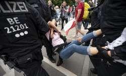berlin protesters