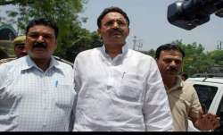 Gangster Mukhtar Ansari tells courts: 'UP govt may kill me