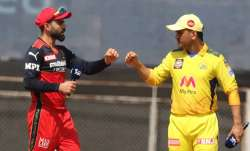 RCB vs CSK IPL 2021 Toss Today: Live Updates Playing XI Pitch Report; Who will win the toss - Kohli