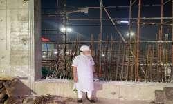 PM Modi makes a surprise visit to the construction site of
