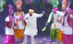 WATCH: When Punjab CM Charanjit Singh Channi broke into