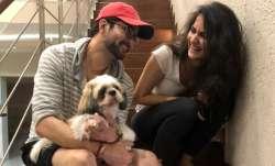 Bigg Boss OTT ex-contestant Raqesh Bapat shares happy pics with his dog Murphy, niece after returnin