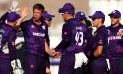 Scotland grabbed the top position in Group B with two wins having shocked Bangladesh in their openin