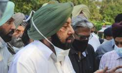 Former Punjab Chief Minister Captain Amarinder Singh