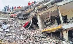 Building collapses, south Delhi, Sangam Vihar, latest national news updates, delhi, building collaps