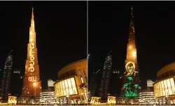 Telangana's Bathukamma showcased on Burj Khalifa