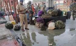 Chhattisgarh: Blast hits CRPF special train at Raipur