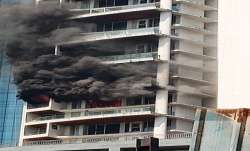 Mumbai: Massive fire engulfs multi-storey building in