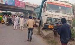 Three women run over by speeding truck near farmers'