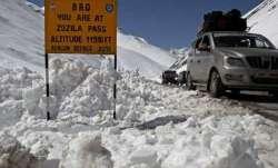 Jammu Kashmir snowfall