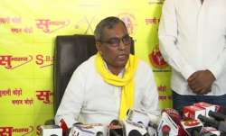 SBSP chief Rajbhar hints at alliance with BJP ahead of 2022