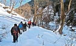himachal pradesh, trekkers,
