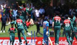 Bangladesh beat India by 3 wickets to win maiden U-19 World Cup title