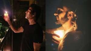 [PICS] Akshay Kumar, Deepika-Ranveer, Kapil Sharma & others light candles for PM Modi's 'diya jalaye