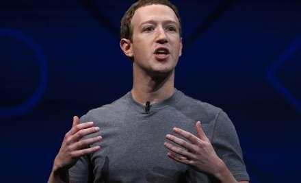 File pic of Mark Zukerberg