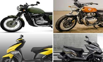 Top 10 two-wheelers launched in 2018.