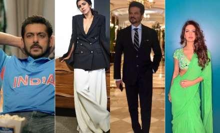 Bollywood celebrities congratulating team India