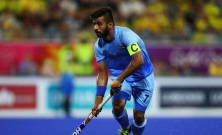 India hockey captain Manpreet Singh