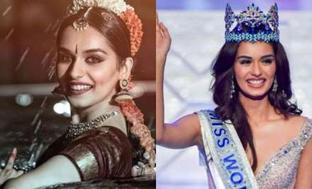 Manushi Chillar shoots first scene for debut movie