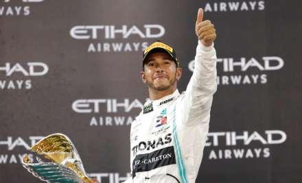 Formula One champion Lewis Hamilton