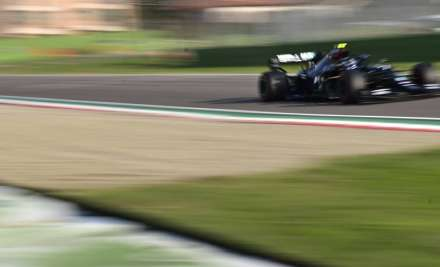 Mercedes driver Valtteri Bottas of Finland steers his car