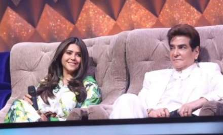 Ekta Kapoor with father Jeetendra