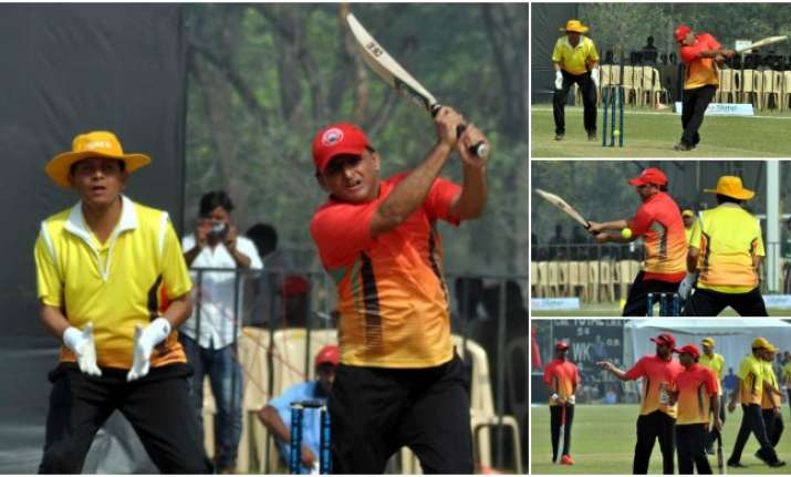 UP CM Akhilesh Yadav was adjudged man of the match for
