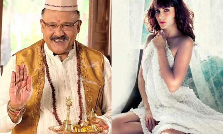 Alok Nath and Mandana Karimi