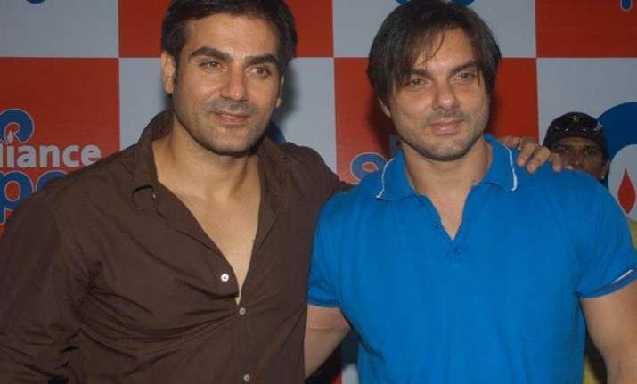 Arbaaz and Sohail Khan